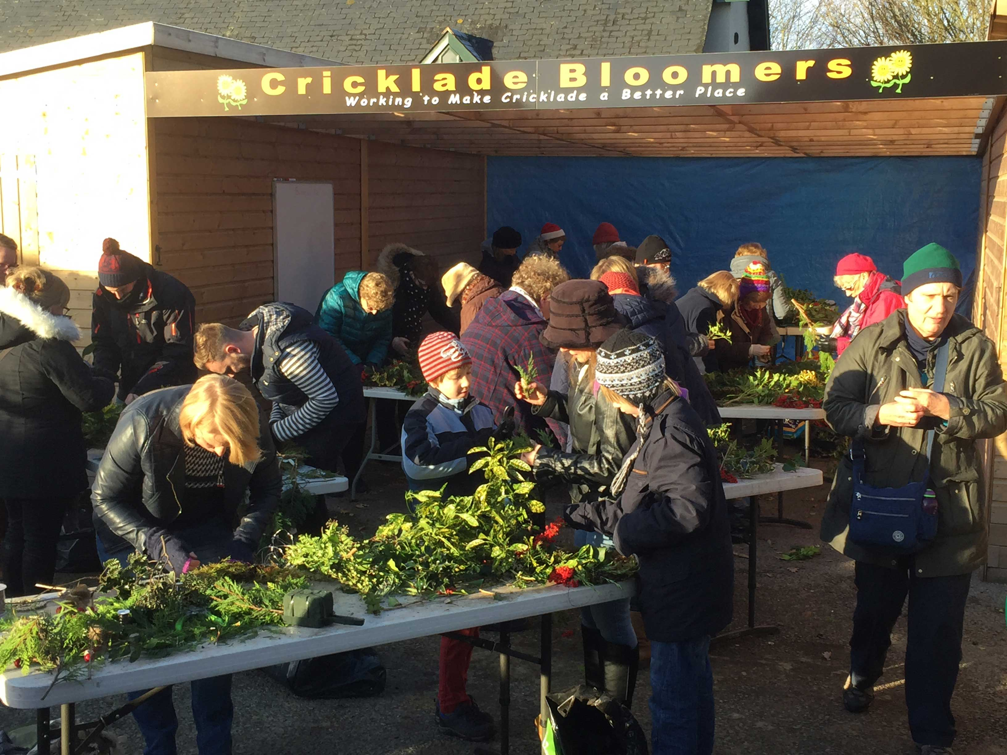 3rd Wreath Making In The Sun Cricklade Bloomers